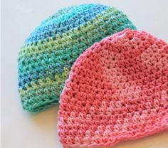 Ombre Baby Hat, Beanie, Personalize with Initial, Name, Select Color,Cotton, $15.0
