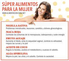 #Alimentos extraordinarios que son muy útiles para distintos padecimientos de la #mujer. Nigella: http://www.alimentacion-sana.net/tintura-de-nigella-sativa