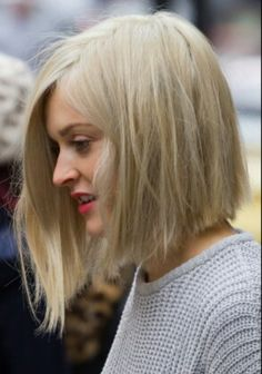 Fearne Cotton blunt bob