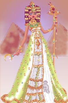 Cleopatra by ~ Sailor Moon Dress Up Sailor Moon Dress, Doll Divine, Cleopatra, Girl Cartoon, Princesses, Aurora Sleeping Beauty, Dress Up, Dolls, Disney Princess
