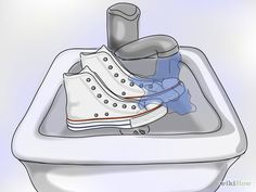 Image titled Clean White Converse Step 2