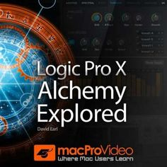 Logic Pro X Alchemy Explored TUTORiAL-SYNTHiC4TE, Tutorial, SYNTHiC4TE, Logic Pro X, Explored, Alchemy, Magesy.be