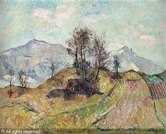 Anton Lutz - Blick ins Gebirge