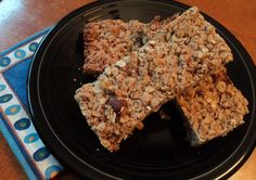 Kid-Friendly Recipe:  Easy Four-Ingredient Homemade Granola Bars