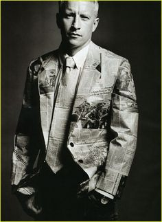 Image result for suit made of newspaper