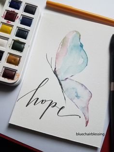 Watercolor Calligraphy Quotes, Calligraphy Cards, Calligraphy Drawing, Bible Verse Painting, Canvas Painting Quotes, Bible Art, Christian Drawings, Christian Paintings, Christian Art