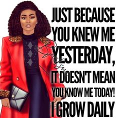 """""""We don't grow when things are easy; we grow when we face challenges. Strong Black Woman Quotes, Black Girl Quotes, Black Women Quotes, Black Girl Art, Black Women Art, Strong Women, Diva Quotes, Boss Lady Quotes, Inspirational Words Of Wisdom"""