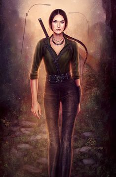 Kate Daniels series by Ilona Andrews  Pic by: Kate Six by Celtran.deviantart.com on @deviantART