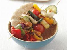 Pittige groentespiesjes (Libelle Lekker!)