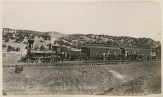 Lamy railroad junction, Lamy, New MexicoPhotographer: J.R. RiddleDate: 1884?Negative Number 076033