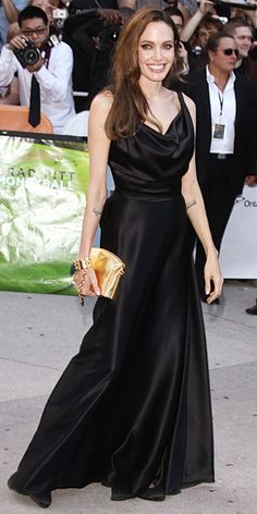 Angelina Jolie's Best Red Carpet Looks Ever - In Vivienne Westwood, 2011 from InStyle.com