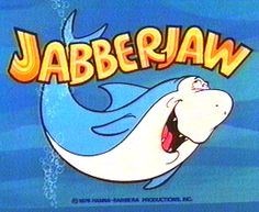 My four year old jibber jabbers like jabberjaw!!