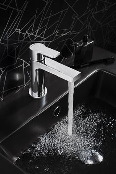 Exceptional value & superior design to create the perfect finishing touch for your bathroom - Trapeze Basin Monobloc from Crosswater. http://www.crosswater.co.uk/product/basin-taps-deck-mounted/trapeze-basin-monobloc/