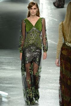 The most extravagant way to do evening in true artwork form from Rodarte.