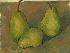 Paul Cézanne, Three Pears on ArtStack #paul-cezanne #art