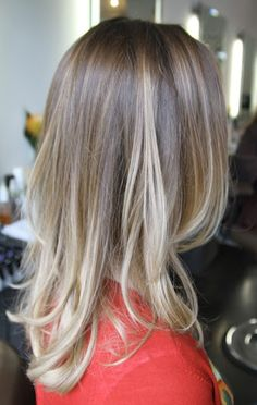 beautiful ombre blonde
