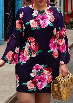Stylish plus size outfits ideas for summer 2018 3 vestidos en 2018 muoti, v Vestidos Plus Size, Plus Size Dresses, Plus Size Outfits, African Fashion Dresses, African Dress, Dress Fashion, Fashion Clothes, Curvy Girl Fashion, Look Fashion