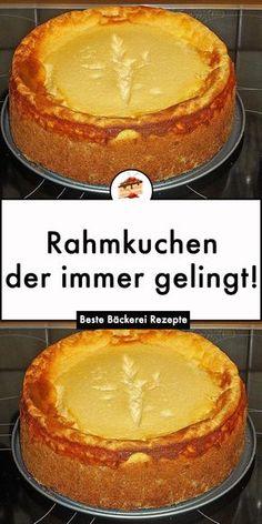 Quiche, German Baking, Bolo Cake, Easy Baking Recipes, Banana Recipes, Food Items, Fruits And Veggies, Eating Habits, Cravings
