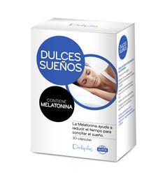 DULCES SUEÑOS MELATONINA  Complemento alimenticio con melatonina. La Melatonina contribuye a disminuir el tiempo necesario para conciliar el sueño. 40 cápsulas.