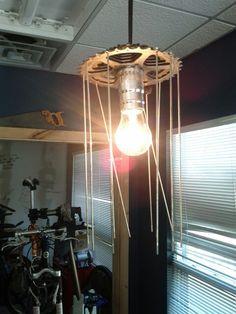 Bike bar light Bar Lighting, Cycling, Chandelier, Ceiling Lights, Bike, Store, Home Decor, Bicycle Kick, Homemade Home Decor