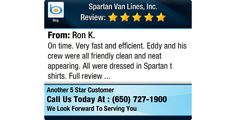 On time. Very fast and efficient. Eddy and his crew were all friendly clean and neat...