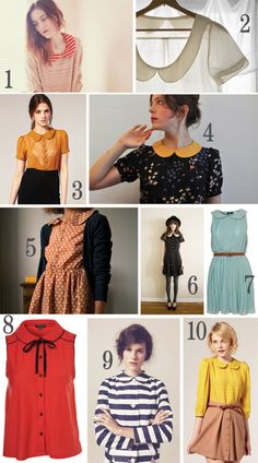 Clothes from 60s for ladies.Interesting combination that are inspired from clothes from 60s fashion that you can wear today.
