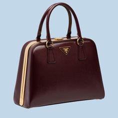 Handbags on Pinterest | Prada, Frames and Patent Leather - prada frame bag bright yellow