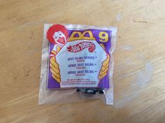 Mcdonald's Happy Meal Toys Hot Wheels #9 Hot Hub Series Playset 1995 MIP…