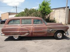'53 Pontiac Chieftain Deluxe Tin Woody