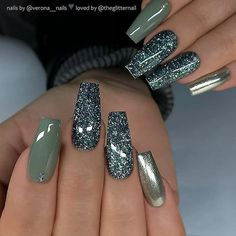 Gel nails polish gets more and more popular among fashion ladies these days. They are terrific options from other kind of manicure nails. Sometimes acrylic nails come in colors, but usually… Bright Summer Acrylic Nails, Best Acrylic Nails, Nails Yellow, Green Nails, Gorgeous Nails, Pretty Nails, Classy Gel Nails, Natural Gel Nails, Nagellack Design