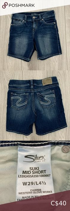 Jeans Pants, Jean Shorts, Suki, Silver Jeans, Shop My, Check, Closet, Shopping, Style