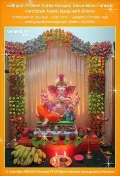 ganesh chaturthi decoration ideas ganesh pooja decor fest decor