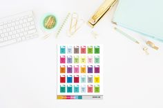 Happy Mail Planner Stickers by TheCleverDesign on Etsy
