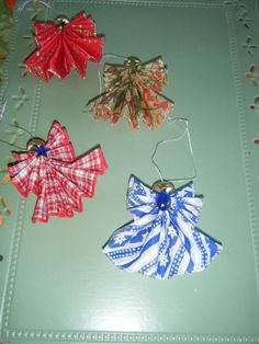 Ribbon Angel Ornaments (pictures)