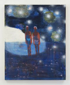 SELECT WORKS   KATHERINE BRADFORD: DIVERS AND DREAMERS   Katherine Bradford Couple on the Moon, 2016 acrylic on canvas 44 x 36 inches KBrad 61   Katherine Bradford Shell Seeker, 2016 acrylic on canvas 20 x 16 inches KBrad...
