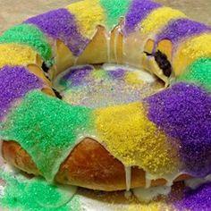 Http Allrecipes Com Recipe  Mardi Gras King Cake