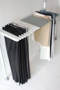How to do DIY Clothes Racks: Clipless Pants Diy Clothes Rack ~  General Inspiration