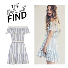 """""""The Daily Find: LoveShackFancy Dress"""" by polyvore-editorial ❤ liked on Polyvore featuring LoveShackFancy and DailyFind"""