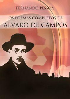 "Capa do livro ""Poemas Completo de Álvaro de Campos"""
