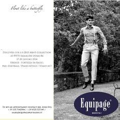 Equipage e le altre imprese di Parma Couture ti aspettano la prossima settimana a Firenze per Pitti Uomo. Potrai finalmente conoscere le nostre nuove collezioni. Non mancare!