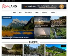 Photoland Blogger Template