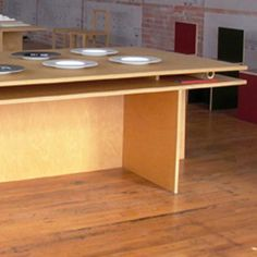 Plywood desks - Judd Furniture