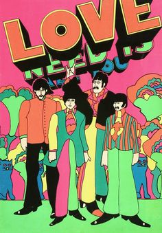 Peter Max - Beatles http://1.bp.blogspot.com/_D1ZZyTOG7tQ/SwWRMHFxz1I/AAAAAAAAGHU/u020B-Cd5SQ/s1600/Beatles%2BYellow%2BSubmarine%2BBlacklight%2BPoster.jpg