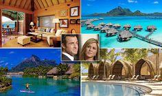 Inside Jennifer Aniston and Justin Theroux's £32,000-a-week honeymoon