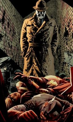 Rorschach and The Avengers