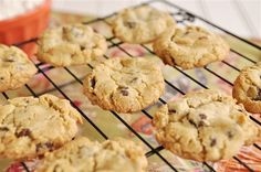 Gluten Free Chocolate Chip Cookies- with all-purpose flour mix