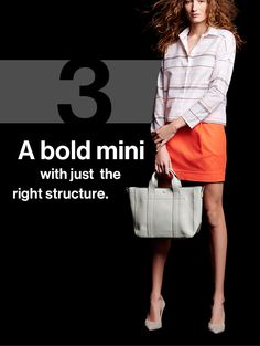 A bold mini with just the right structure.