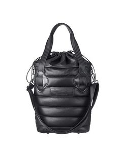 Tote Purse, Backpack Bags, My Bags, Purses And Bags, Black And White Bags, Sacs Design, Fabric Bags, City Bag, Nylon Bag