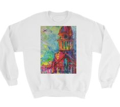 Buy unique print-on-demand products from independent artists worldwide or sell your own designs at the drop of an image! Online Printing, Graphic Sweatshirt, Sweatshirts, Colors, Sweaters, How To Make, Stuff To Buy, Design, Fashion