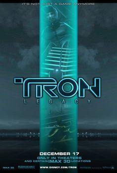 Tron: Legacy , starring Jeff Bridges, Garrett Hedlund, Olivia Wilde, Bruce Boxleitner. The son of a virtual world designer goes looking for his father and ends up inside the digital world that his father designed. He meets his father's creation turned bad and a unique ally who was born inside the digital domain of The Grid. #Action #Adventure #Sci-Fi